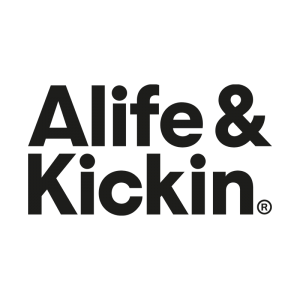 Alife and Kickin Logo